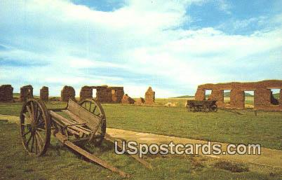 Mechanics Corral - Fort Union National Monument, New Mexico NM Postcard