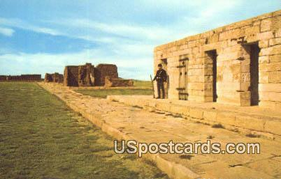 Prison - Fort Union National Monument, New Mexico NM Postcard