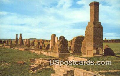 Officers Row - Fort Union National Monument, New Mexico NM Postcard
