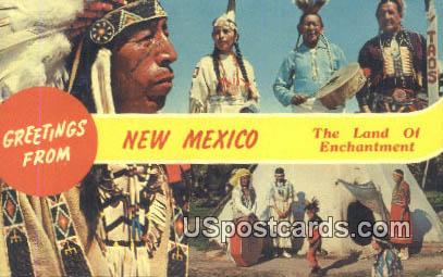 Misc, NM Postcard       ;       Misc, New Mexico