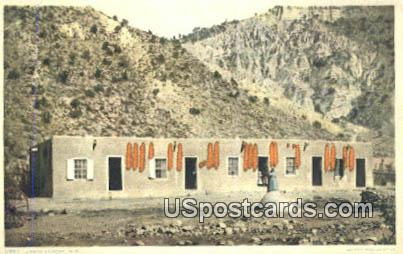 Mexican Home - Misc, New Mexico NM Postcard