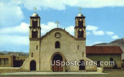 San Miguel Church - Socorro, New Mexico NM Postcard