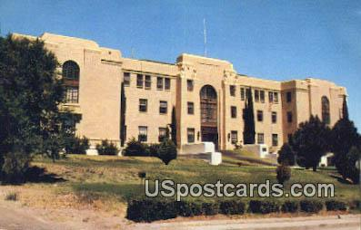 Grant County Court House - Silver City, New Mexico NM Postcard