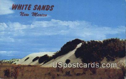 White Sands - Alamogordo, New Mexico NM Postcard