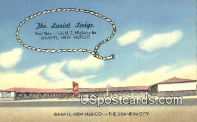 Lariat Lodge - Grants, New Mexico NM Postcard