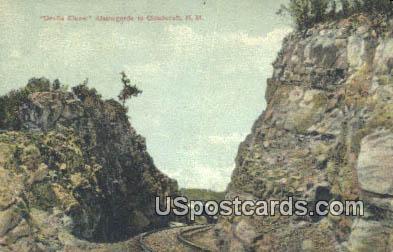 Devils Elbow - Alamogordo, New Mexico NM Postcard