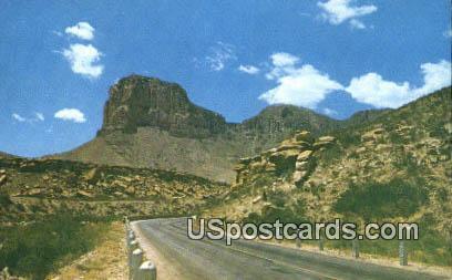 El Capitan Motel - Carlsbad Caverns, New Mexico NM Postcard