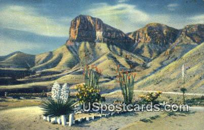 Signal Peak - Guadalupe Mountains, New Mexico NM Postcard