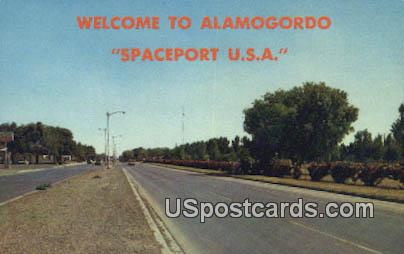 US Highway 54 & 70 - Alamogordo, New Mexico NM Postcard