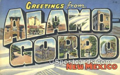 Alamogordo, New Mexico Postcard       ;       Alamogordo, NM