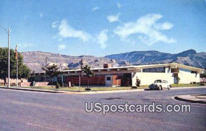 Alamogordo Public Library - New Mexico NM Postcard
