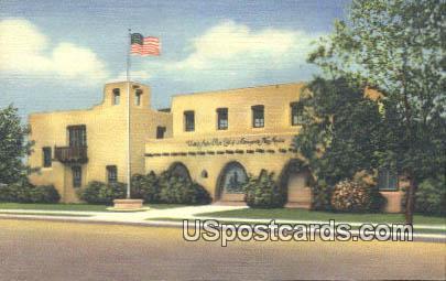 US Post Office - Alamogordo, New Mexico NM Postcard