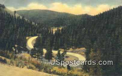 Holman Hill - Taos, New Mexico NM Postcard