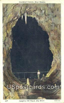 Jumping Off Place, Big Room - Carlsbad Caverns, New Mexico NM Postcard
