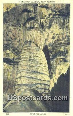 Rock of Ages - Carlsbad Caverns, New Mexico NM Postcard