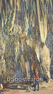 Tough Formation, King's Palace - Carlsbad Caverns, New Mexico NM Postcard