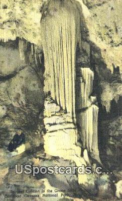 Largest Column, Great Lake Region - Carlsbad Caverns National Park, New Mexico NM Postcard