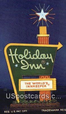 Holiday Inn - Grants, New Mexico NM Postcard