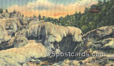 Soda Dam - Jemez Hot Springs, New Mexico NM Postcard