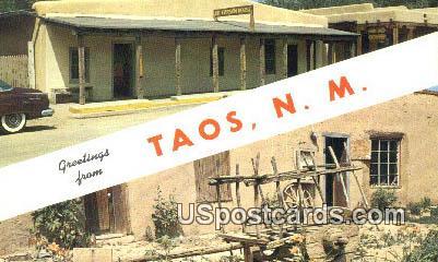 Kit Carson House & Museum - Taos, New Mexico NM Postcard