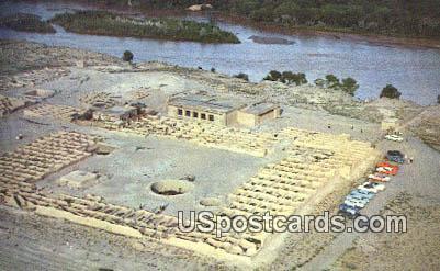 Coronado's Ruins - Rio Grande River, New Mexico NM Postcard