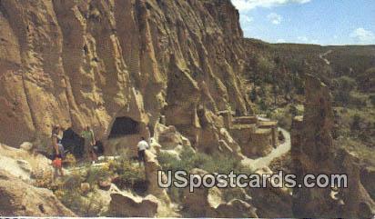 Bandelier National Monument - Santa Fe, New Mexico NM Postcard