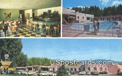 Kachina Lodge & Motel - Taos, New Mexico NM Postcard