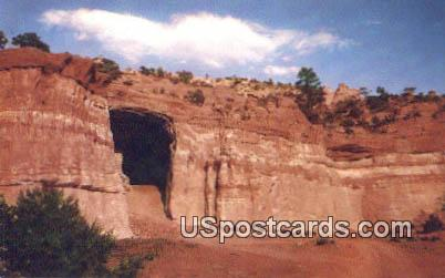 Kit Carson Cave - Gallup, New Mexico NM Postcard