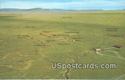 Fort Union National Monument, New Mexico Postcard       ;       Fort Union National Monument, NM Pos