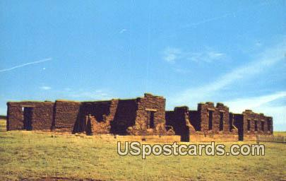 Fort Union Hospital - Fort Union National Monument, New Mexico NM Postcard