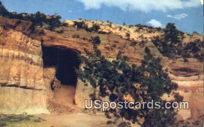 Kit Carson's Grave - Gallup, New Mexico NM Postcard