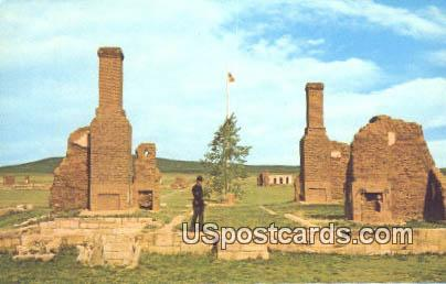 Quarters of Commanding Officer - Fort Union National Monument, New Mexico NM Postcard