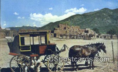 Indian Pueblo Village - Taos, New Mexico NM Postcard