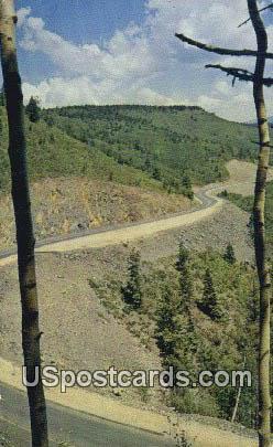 Holman Hill - Mora, New Mexico NM Postcard
