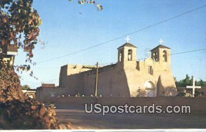 St Francis of Assisi - Ranchos de Taos, New Mexico NM Postcard
