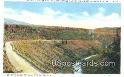 Taos Hill - Raton, New Mexico NM Postcard