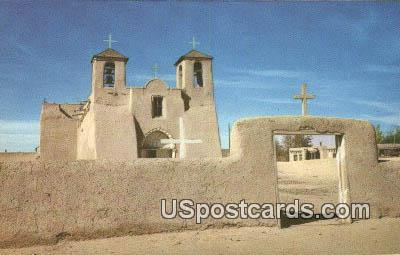Ranchos De Taos Church - New Mexico NM Postcard