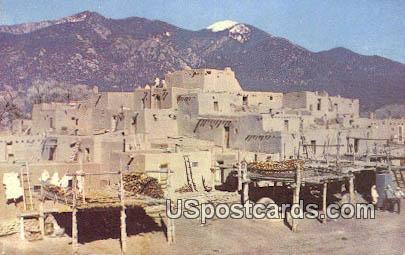 South Pueblo - Taos, New Mexico NM Postcard