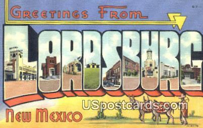 Lordsburg, NM Postcard       ;       Lordsburg, New Mexico