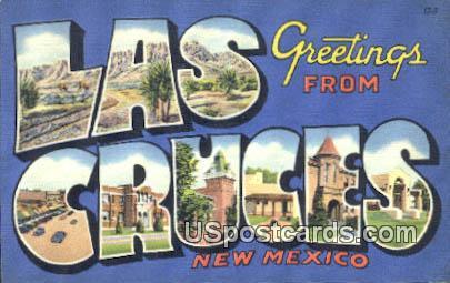 Las Cruces, New Mexico Postcard       ;       Las Cruces, NM