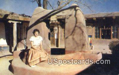 Old Wishing Well - Misc, New Mexico NM Postcard