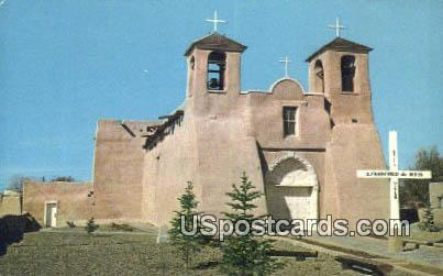 San Francisco De Asis Mission - Ranchos de Taos, New Mexico NM Postcard