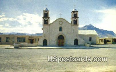 San Miguel Church h - Socorro, New Mexico NM Postcard