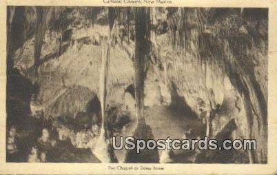 Chapel of Dome Room - Carlsbad Caverns, New Mexico NM Postcard