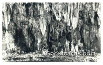 King's Palace - Carlsbad Caverns, New Mexico NM Postcard