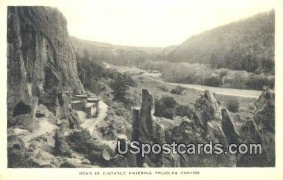 Land of the Ancient Cliff Dweller - Bandelier National Monument, New Mexico NM Postcard