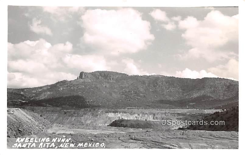 Kneeling Nunn - Santa Rita, New Mexico NM Postcard