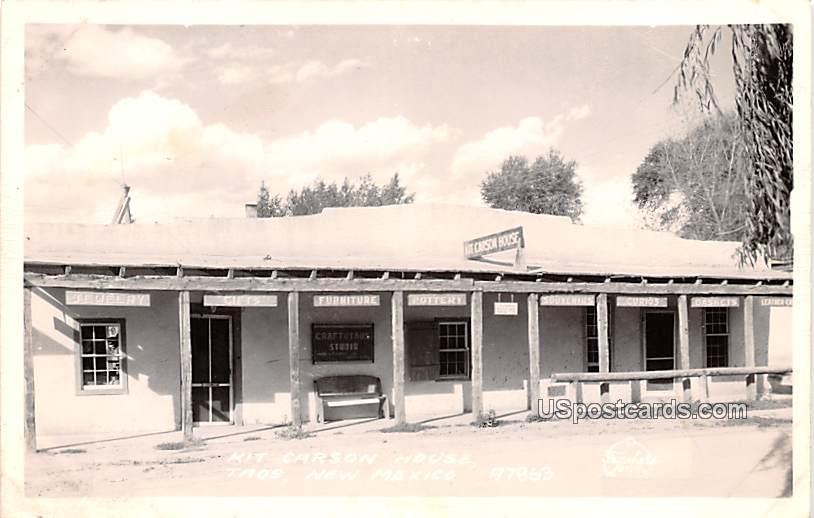 Kit Carson House - Taos, New Mexico NM Postcard