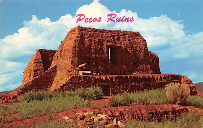 Pecos State Monument NM