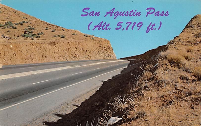 San Agustin Pass NM
